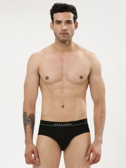 Jack & Jones Logo Print Waistband Briefs