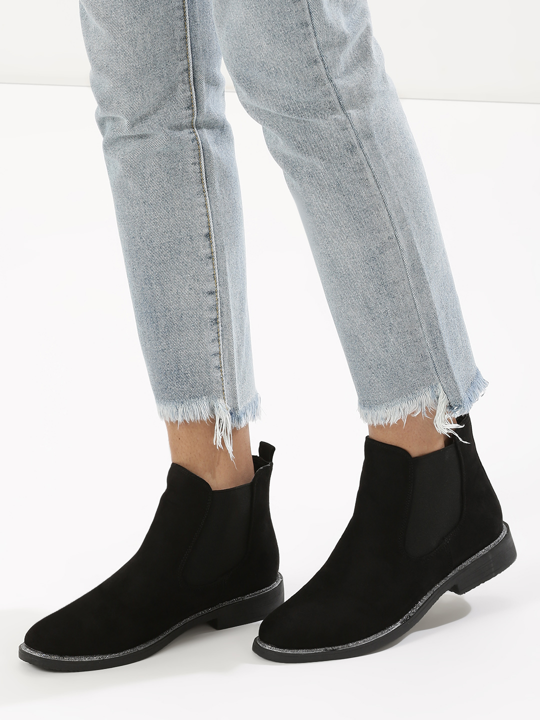 Truffle Collection Black Chelsea Boots 1