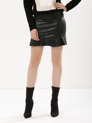 URBAN BLISS Honor Peplum Skirt...