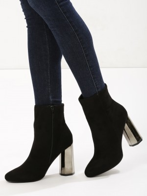 INTOTO Block Heeled Ankle Boot...
