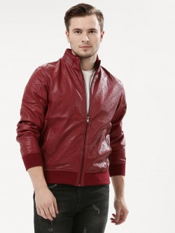 Fort Collins Embossed Bomber Jacket