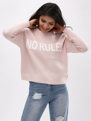 NEW LOOK No Rules Slogan Crop ...