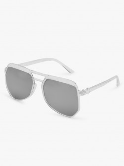 KOOVS Double Bridge Pilot Sunglasses