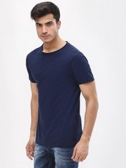 KOOVS Slim Fit Crew Neck T-Shirt