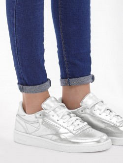 Reebok Classics Club C 85 Metallic Trainers