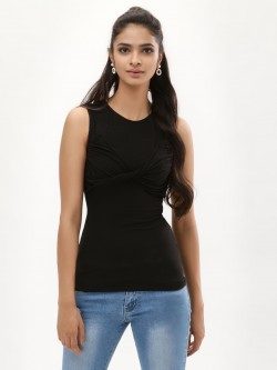 KOOVS Twisted Front Top