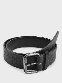 New Look Pinhole Texture Belt