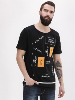 Adamo London Patch Print T-Shirt