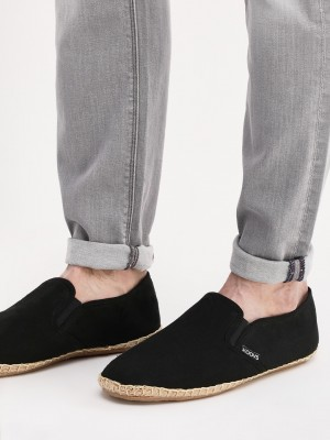 KOOVS Slip On Canvas Espadrill...