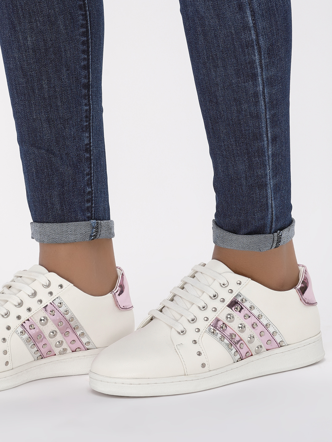 KOOVS Multi Stud Detail Sneakers 1