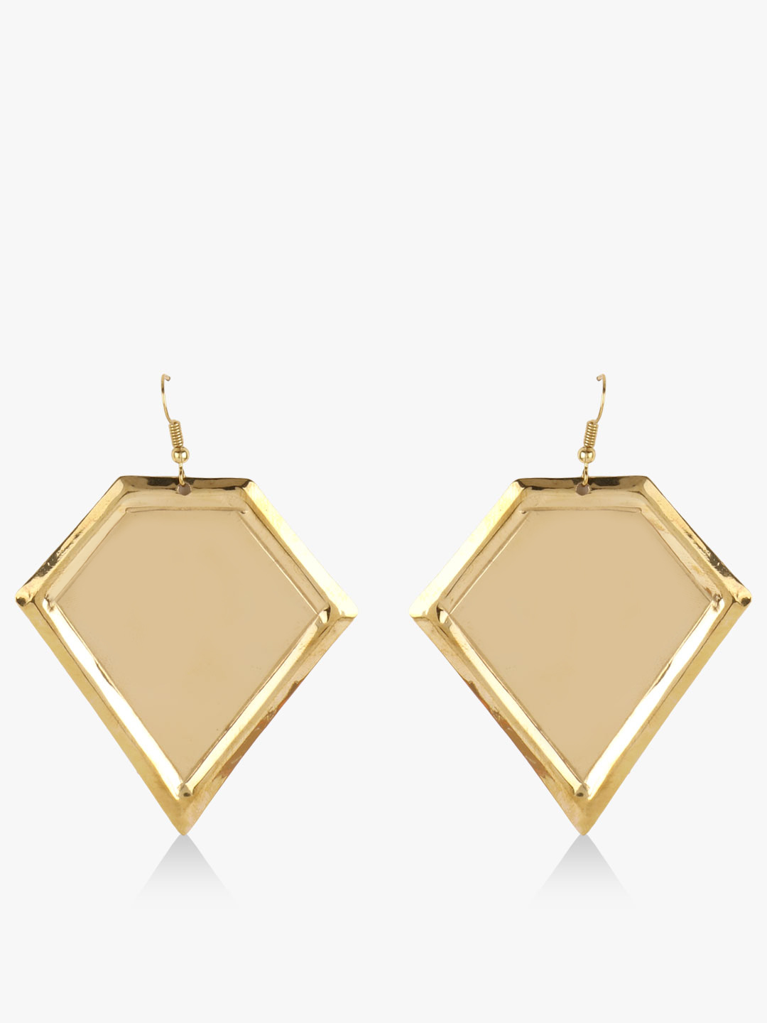 Blueberry Gold Gold Plated Statement Earrings 1
