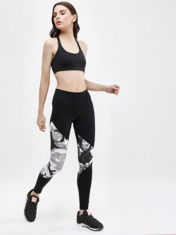 REEBOK Wor Cs Aop Panel Tights