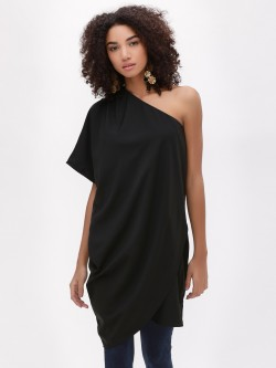 Noble Faith One Shoulder Asymmetric Top