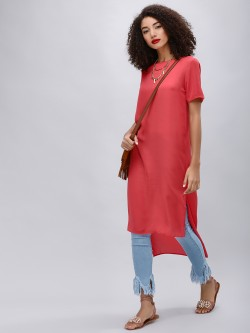 KOOVS High Low Tunic Top