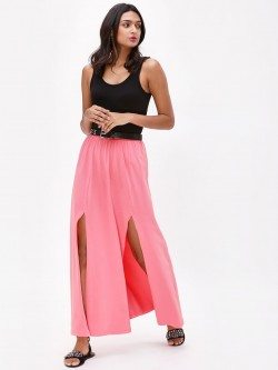 KOOVS High Slit Maxi Skirt