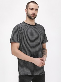 New Look Striped Crew Neck T-Shirt