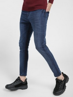 K Denim KOOVS  Washed Ripped Skinny Jeans