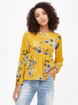 RENA LOVE Floral Print Top...