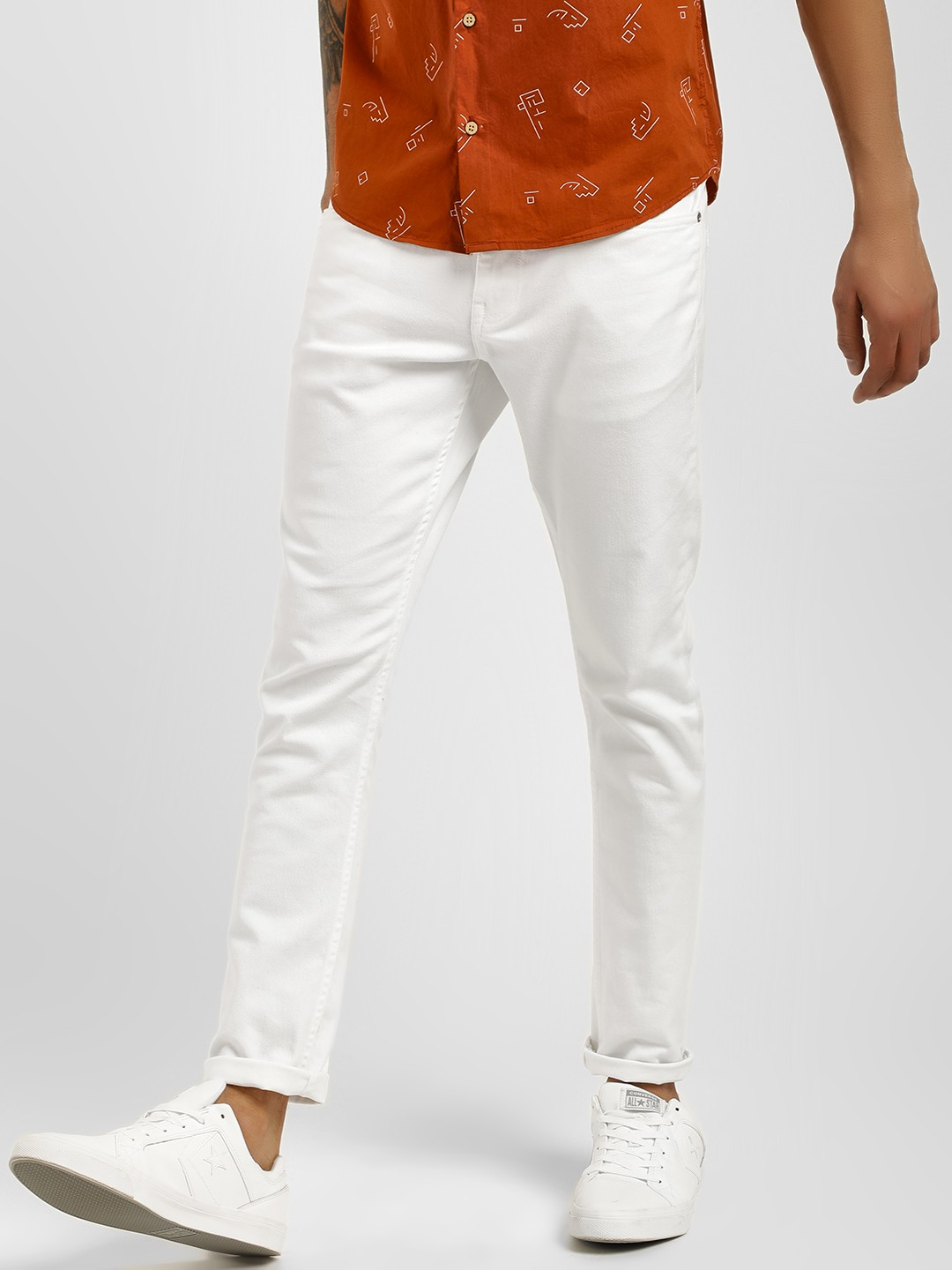 Blue Saint White Basic Skinny Fit Jeans 1