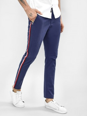 KOOVS Side Tape Skinny Chinos...