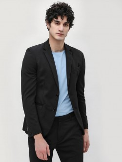 KOOVS Slim Single Breasted Blazer
