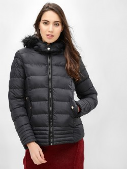 Brave Soul Padded Hooded Jacket