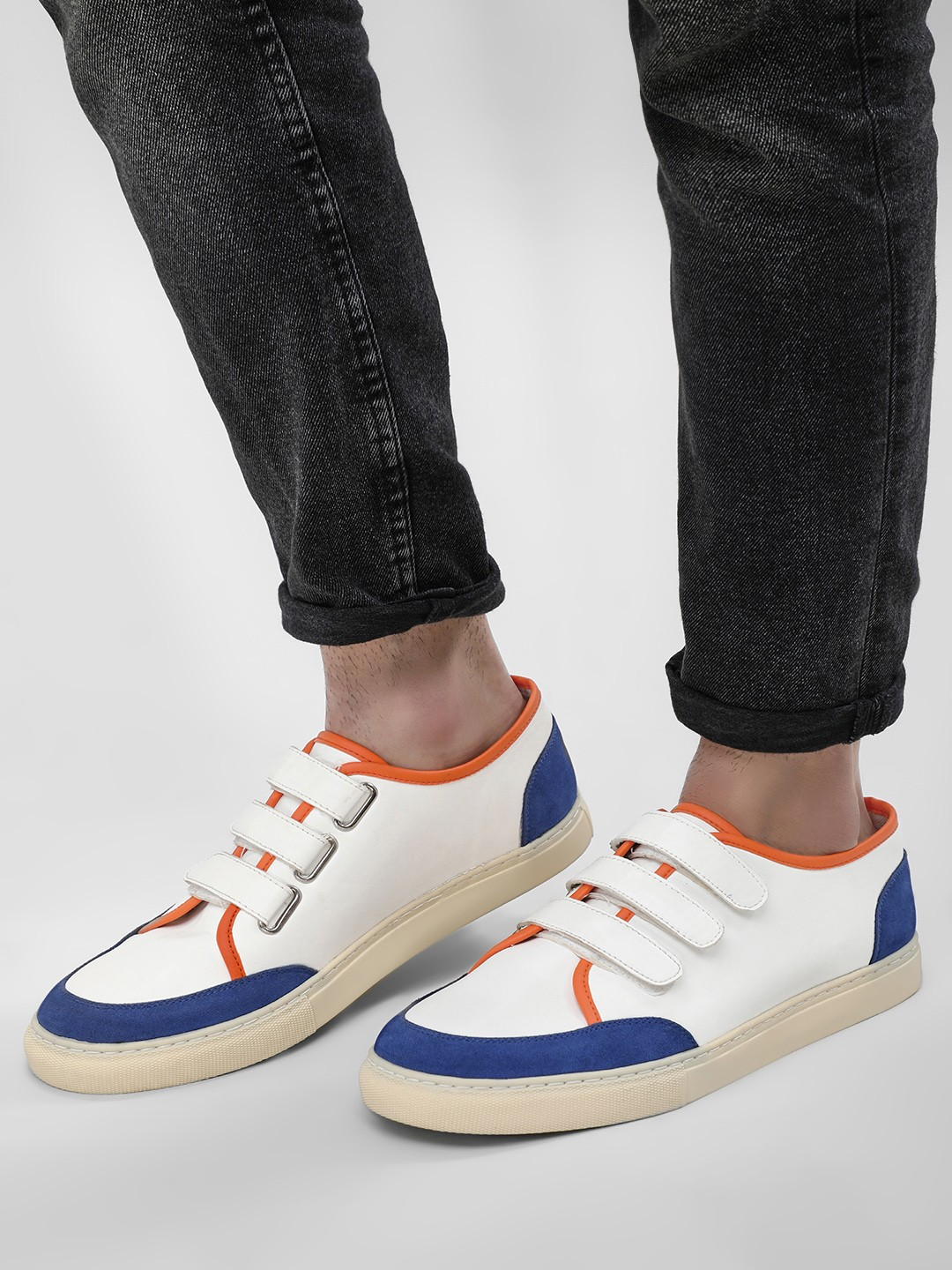 KOOVS White Cup Sole Casual Shoes 1