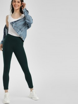 KOOVS Basic Skinny Fit Treggings