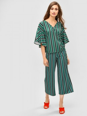 KOOVS All Over Striped Culotte...