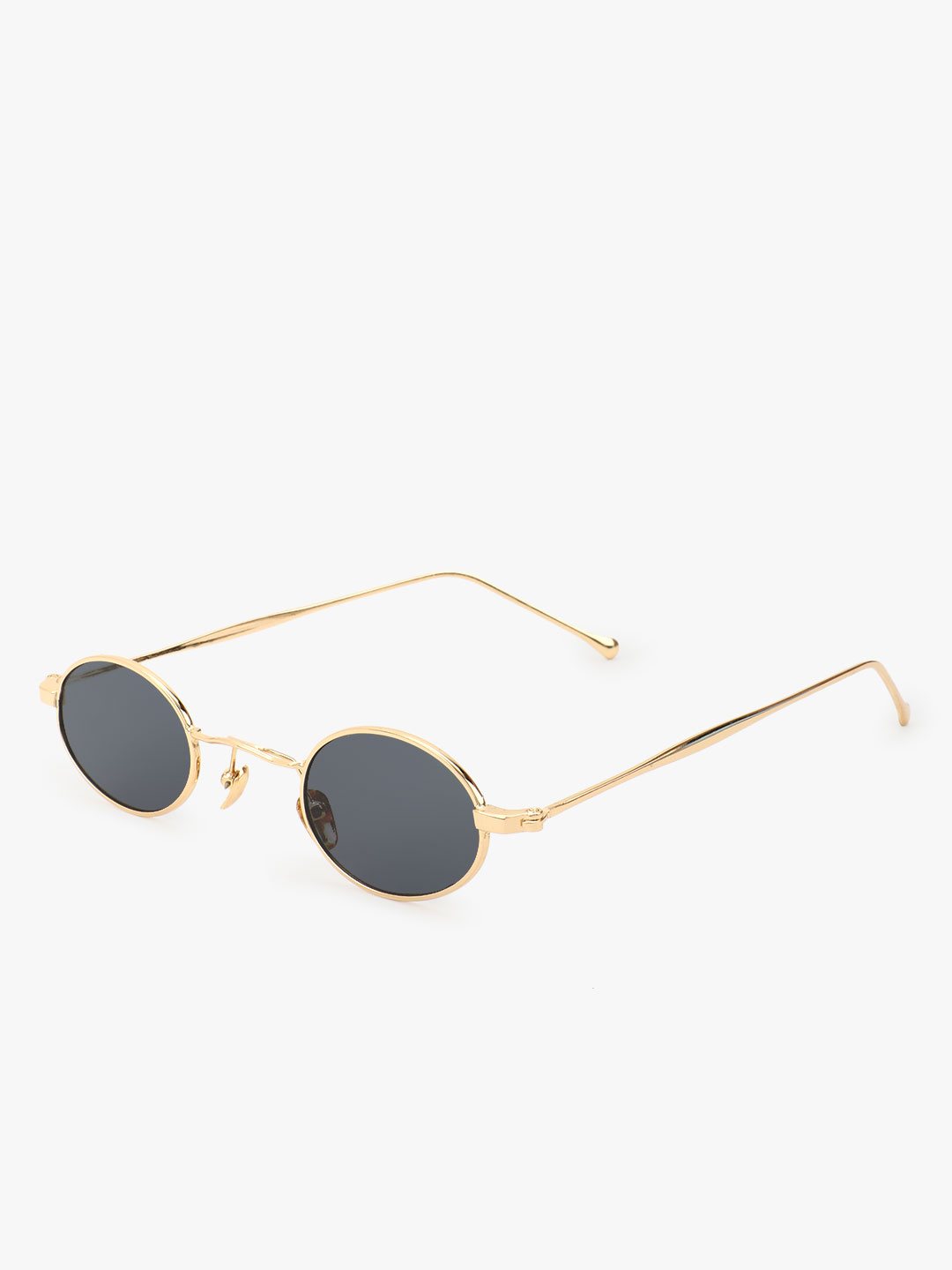 Style Fiesta Black Gold Rimmed Sunglasses 1