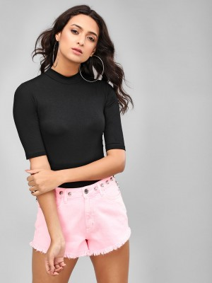 KOOVS Basic High Neck Bodysuit...