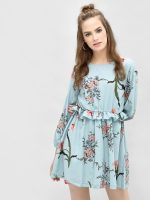 KOOVS Floral Printed Shift Dre...