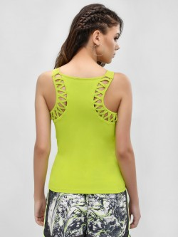 K ACTIVE KOOVS  Lattice Back Scoop Vest
