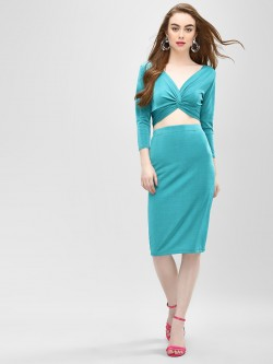 Glamorous Midi Pencil Skirt