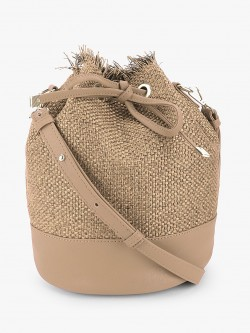 Paris Belle Textured Bucket Sling Bag