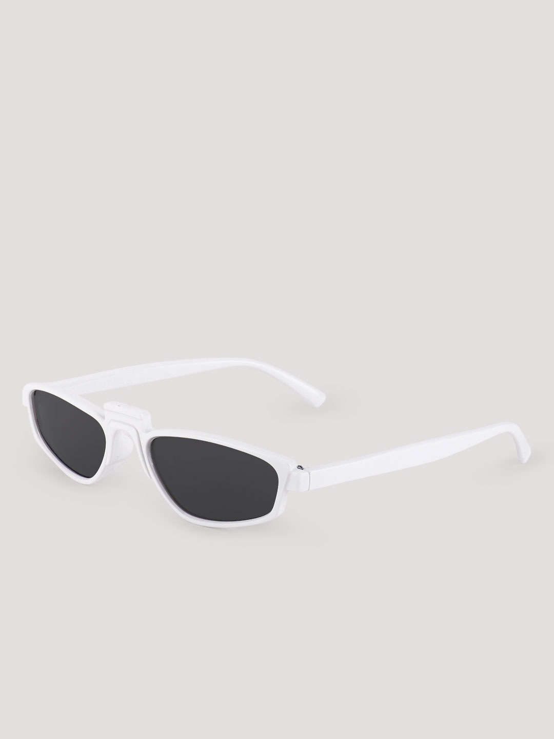 Pataaka White Retro Sunglasses 1