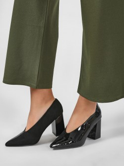 Intoto Pointed Block Heeled Pumps