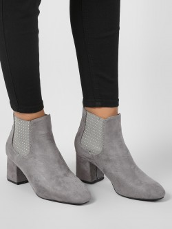 Intoto Studded Elastic Chelsea Boots