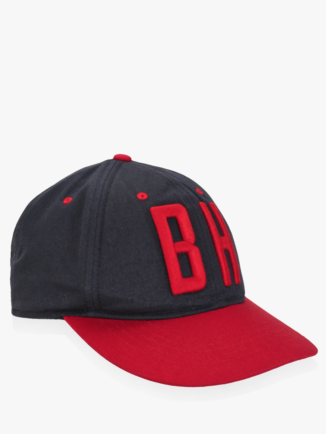 Being Human Blue Embroidered Colour Block Baseball Cap 1
