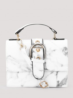 Style Fiesta Marble Finish Sling Bag