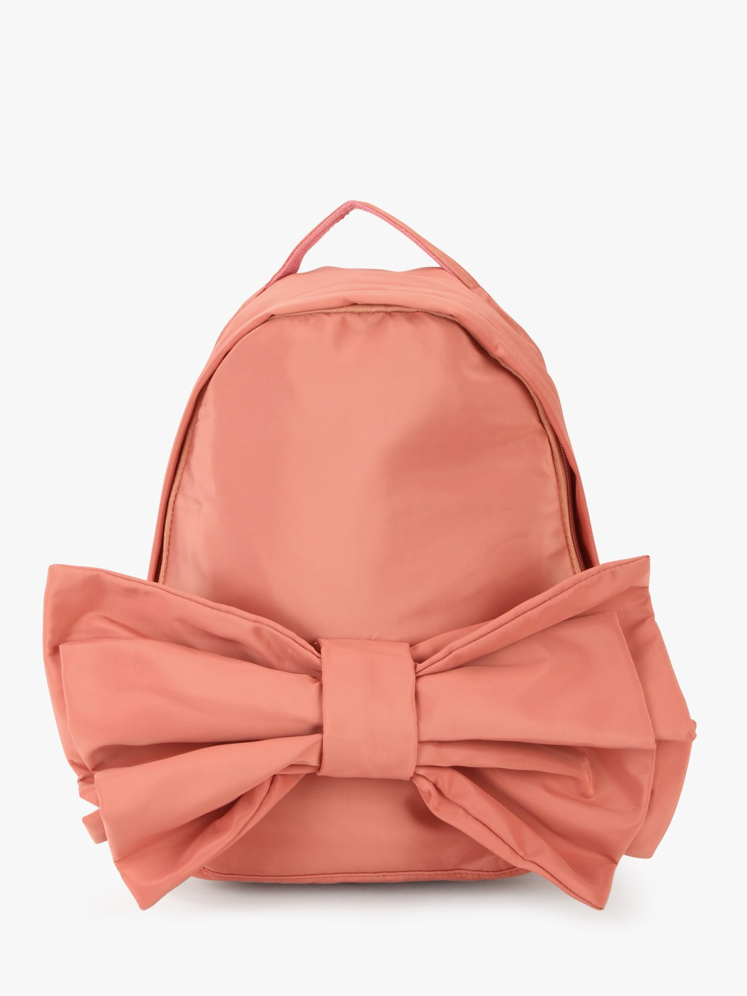 Style Fiesta Pink Big Bow Detail Backpack 1