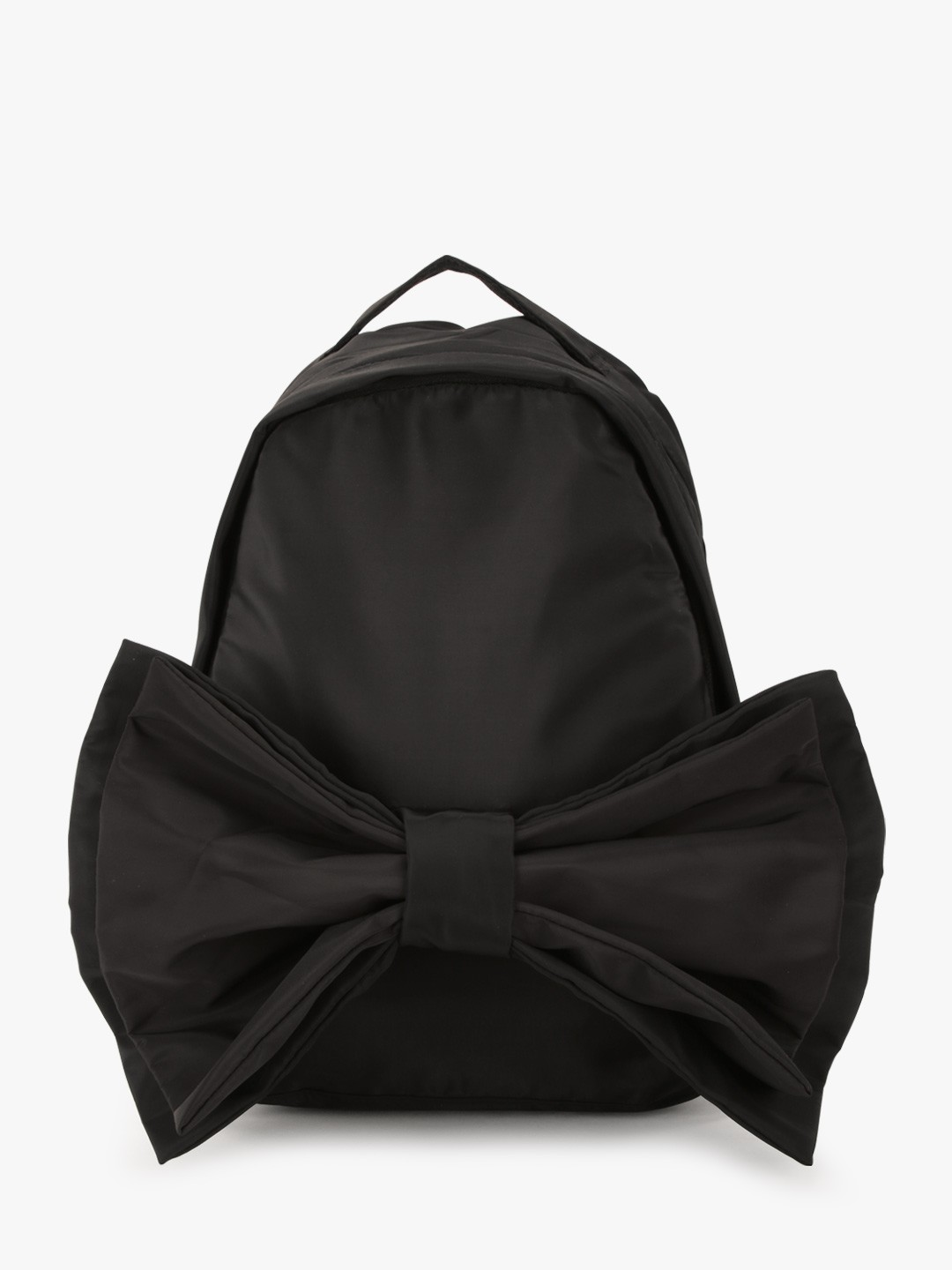 Style Fiesta Black Big Bow Detail Backpack 1