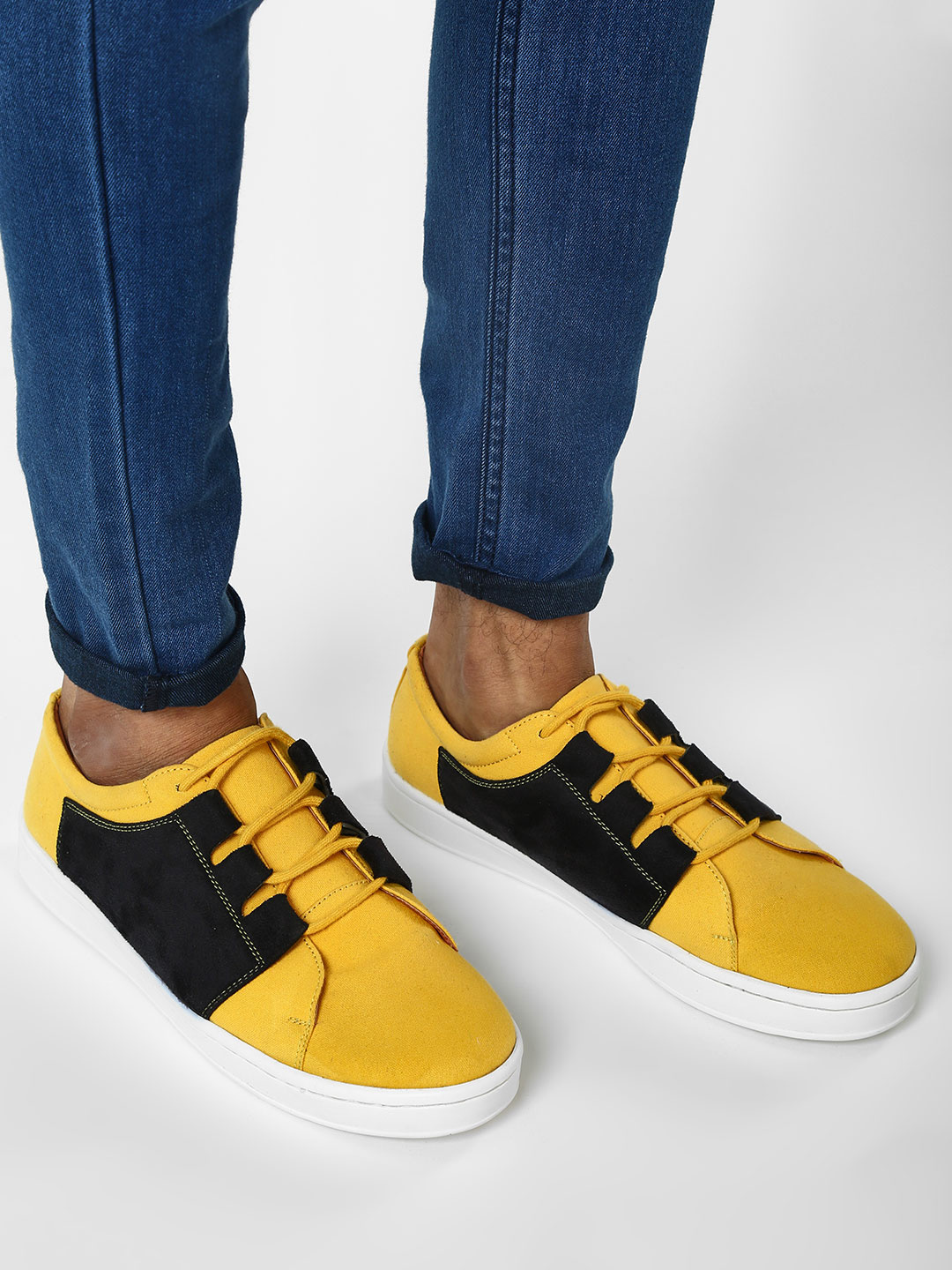 Griffin Multi Contrast Panelled Sneakers 1