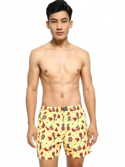 Jack & Jones Tropical Fruit Print Boxers