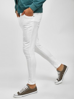 K Denim KOOVS Distressed Skinny Fit Jeans