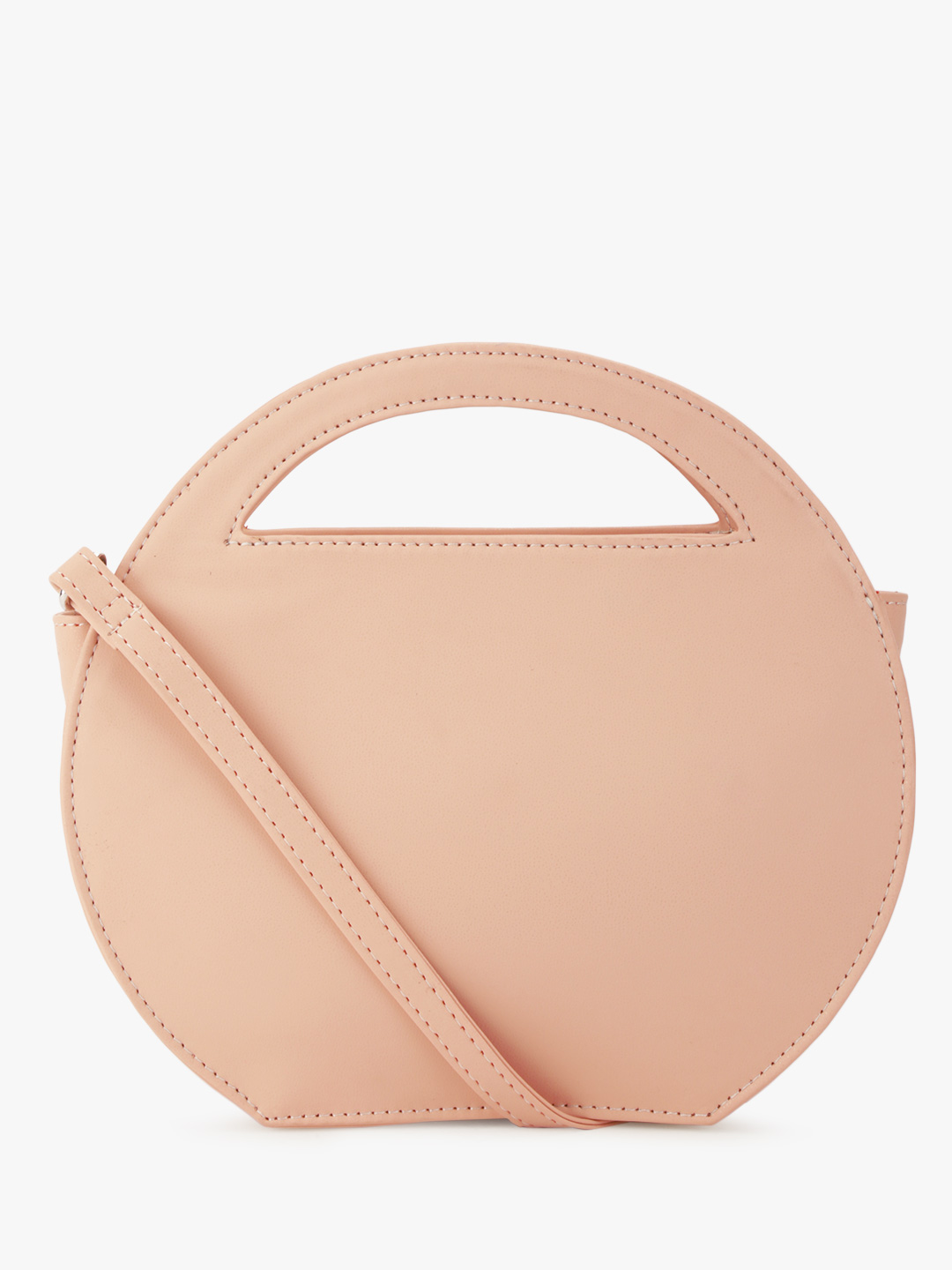 Paris Belle Nude Structured Sling Bag 1