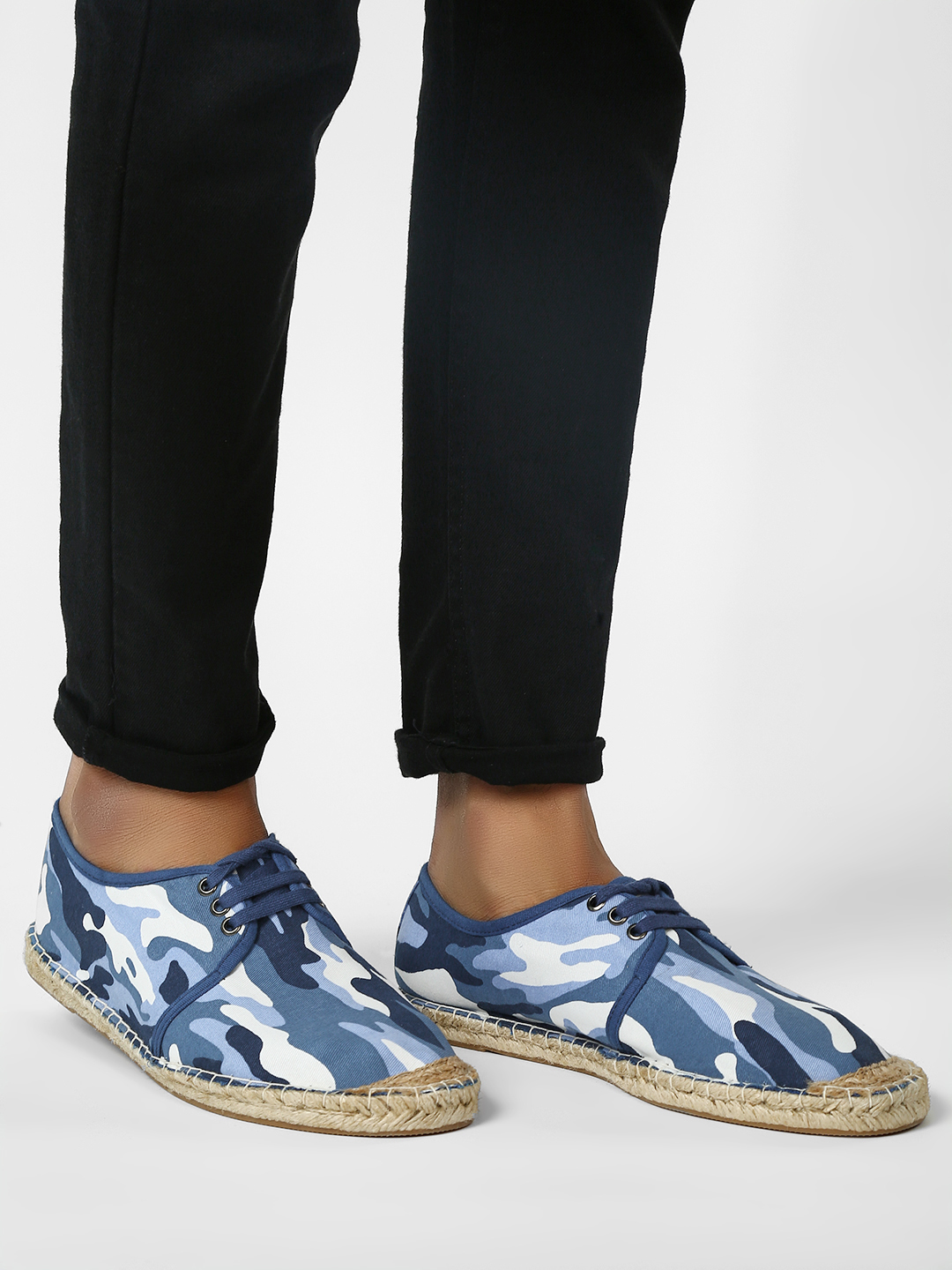 KOOVS Multi Camo Lace-Up Original Espadrilles 1