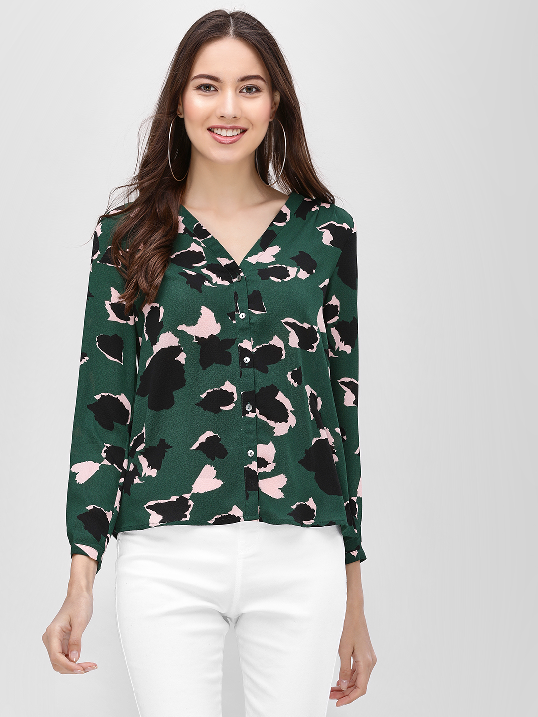 Only Multi All Over Print Shirt 1