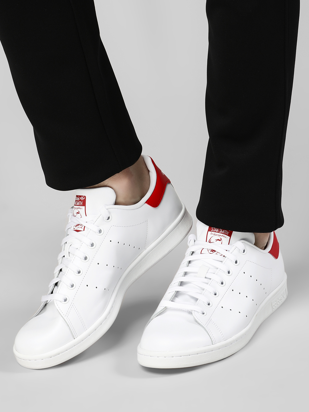 Adidas Originals White Stan Smith Sneakers 1