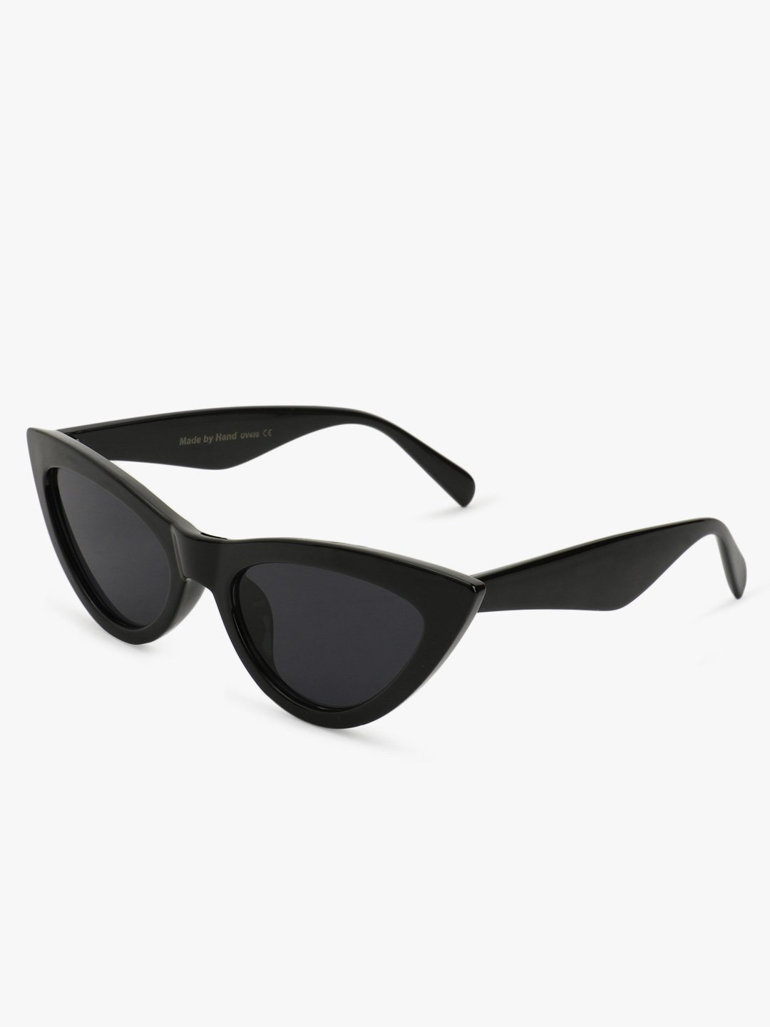 Sneak-a-Peek Black Cateye Sunglasses 1